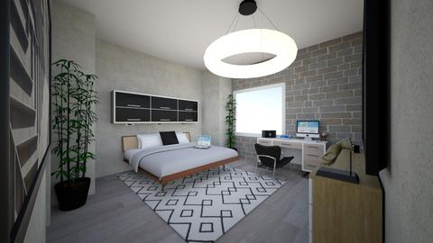 Young adult Designer  - Modern - Bedroom - by iZZ Six