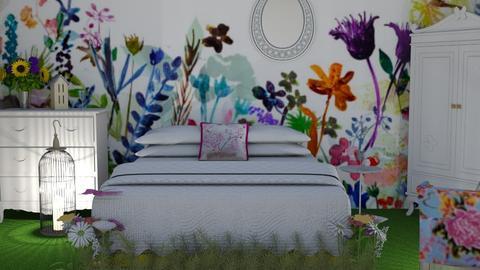 Wild 2 - Bedroom - by The quiet designer