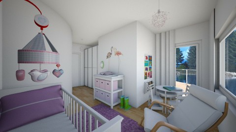 For Simiia II - Modern - Kids room - by Theadora