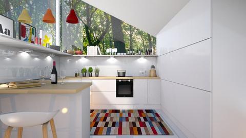 modern playful - Kitchen - by siljaj