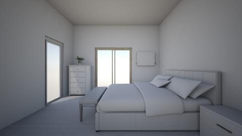 mieszkanie wersja 1 - Modern - Bedroom - by klaudiadrw