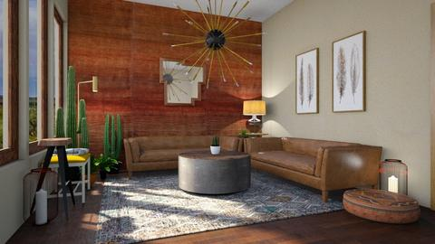 Canyon Living - Living room - by Sarah Anjuli Gailey