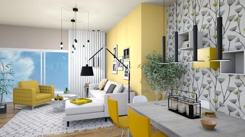 yellow_2 - Modern - by levai_magdolna