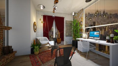 Boho Office - Office - by catemoon123456
