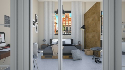 Amsterdam Loft Messy - Modern - Bedroom - by marleinxs