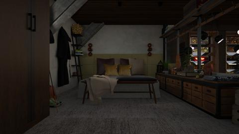 Loft 06 - Eclectic - Bedroom - by evahassing