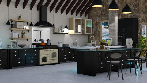 fary room - Country - Kitchen - by soralobo