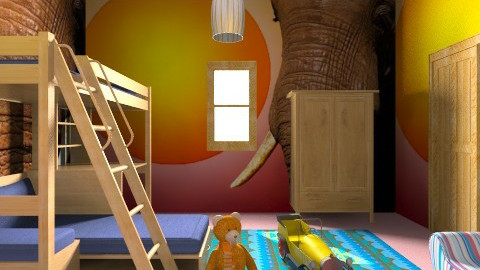 STYLE MODERNO  - Modern - Kids room - by duilio 34