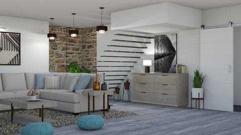 stone wall - Living room - by snjeskasmjeska