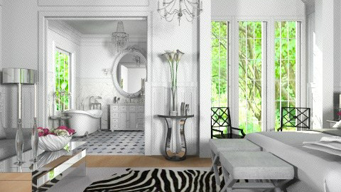 Luxury Bed - Classic - Bedroom - by Hajar Ben Hamou