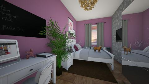 Bedroom - Feminine - Bedroom - by Nicole4444