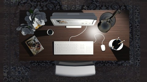 desk - by TaeBlossom