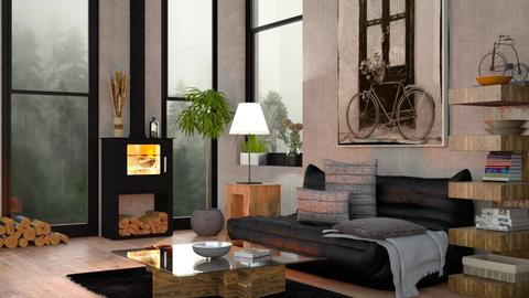 Winter - Eclectic - Living room - by Sally Simpson