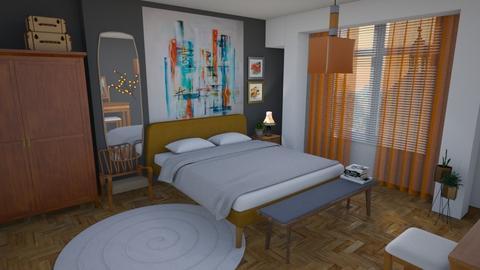 mcm - Bedroom - by augustmoon