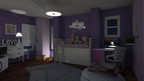 Teenager Bedroom - Modern - Bedroom - by Sue Bonstra
