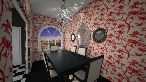 A pop of color - Dining room - by nicquo40