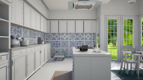 Kitchen Portuguese  - Classic - Kitchen - by Valeska Stieg