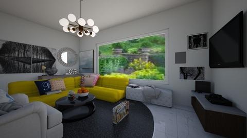 Cutesy Modern - Modern - Living room - by claire_unicorn12