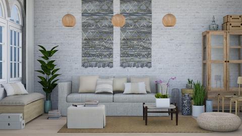 Bohemian Interior - by monicamonica
