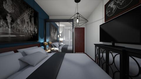 sypialnia1 - Bedroom - by kassandraslu