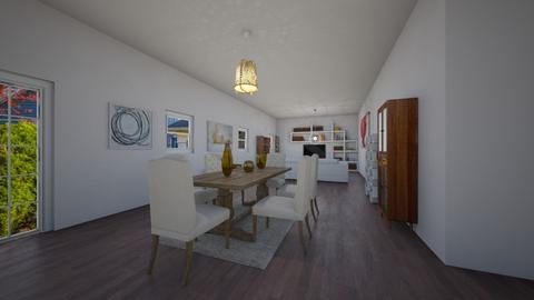 sara house - Living room - by PAULA avila