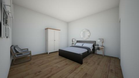 bed - Modern - Bedroom - by Ellie Kail