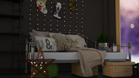 Christmas Magic - Rustic - Bedroom - by LukePeterson