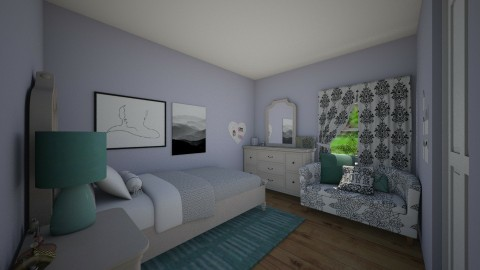 Girly - Bedroom - by hwoodward1