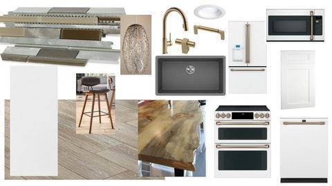 mixed metals kitchen - by tessacofer