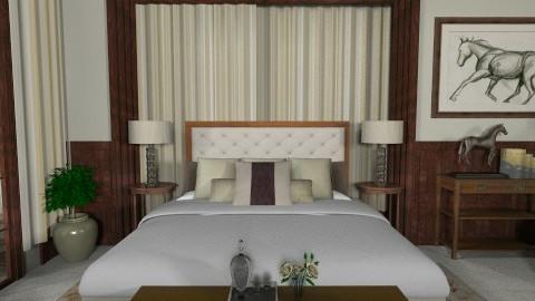 Classic Bedroom - Bedroom - by Baustin