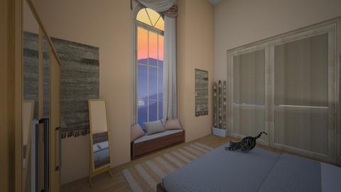 Room1 - Rustic - Bedroom - by andicrsante