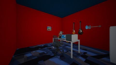 my dad office - Office - by Maria Jose y alex