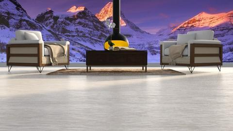 Aspen Chalet 1 - Living room - by LSCo