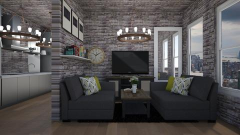 gray 3 - Living room - by cguy67