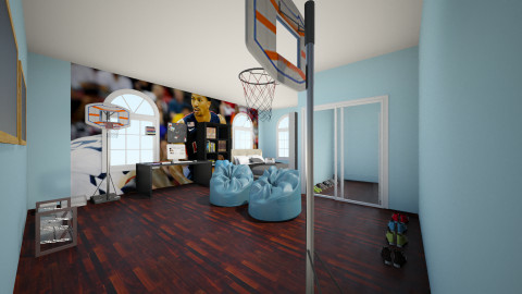 Teen Boy bedroom - Bedroom - by dionicholson60