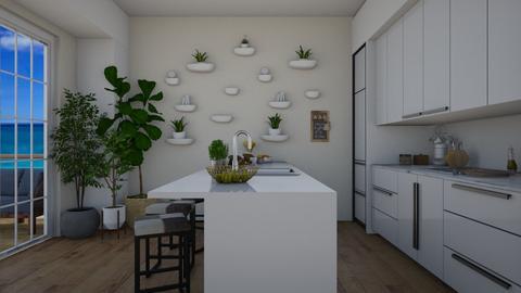 Kitchen - Modern - Kitchen - by lealaurenbagari