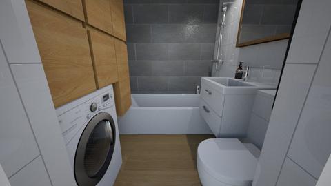LAZIENKA KROSNO 2 - Bathroom - by monikaantos