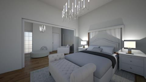 White bedroom - by Anna_be
