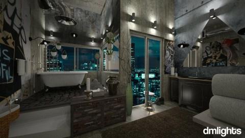 Loft Bathroom 7 - Bathroom - by DMLights-user-1468788