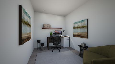 goffices - Living room - by evakarwowska