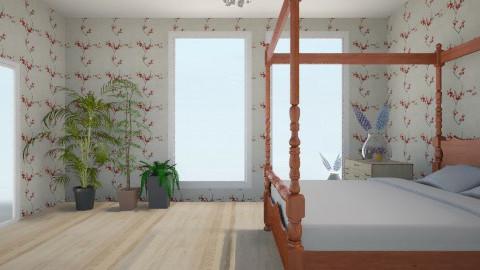 Bedroom in a hotel - Bedroom - by varvaracool