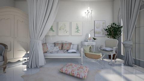 white - Bedroom - by ana111