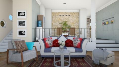 Family Room - Living room - by Vivi fauziaah