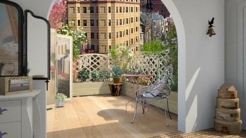 balcony garden - Classic - by donella