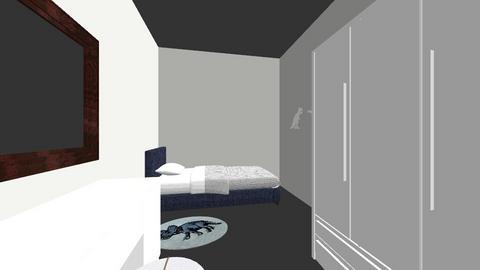 Slaapkamer 3 optie 2 - Kids room - by magchelina