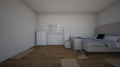 mine and my childs room  - Glamour - Bedroom - by LUMPYLOO