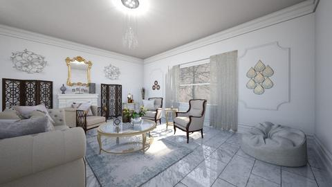 White Shabby and Chique - Living room - by Alilin