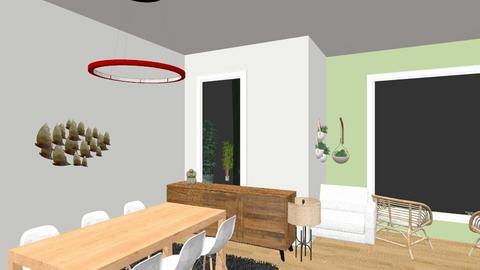 Orkide Salon 1 - Living room - by souldivider