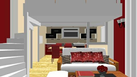 Loft design - by khayeagena29