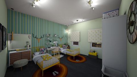 gbr - Bedroom - by rosemariecorreia